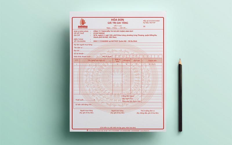 Hóa đơn đỏ sẽ giúp bạn chứng minh nguồn gốc của hàng hóa